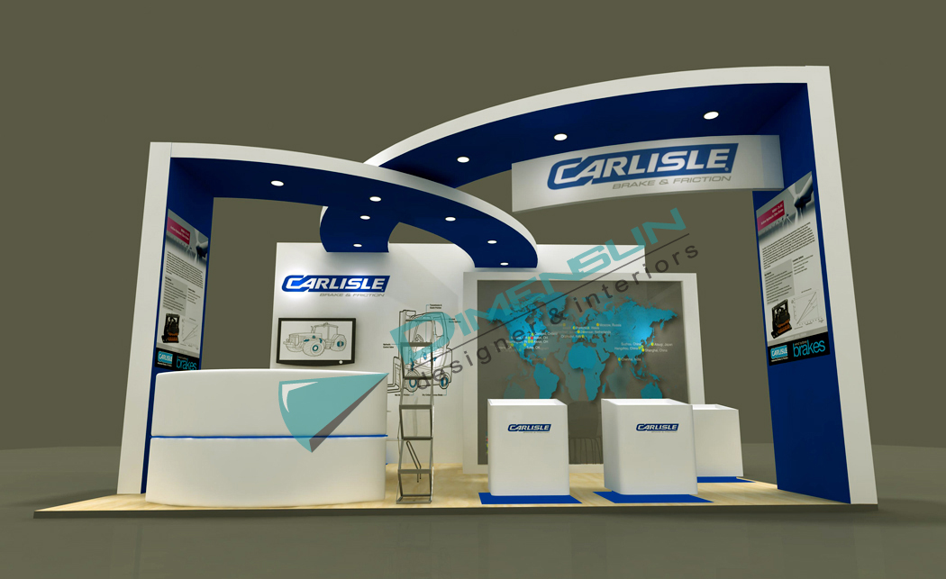 Modern Exhibition Stall Design : Exhibition stalls stall interior fabricator